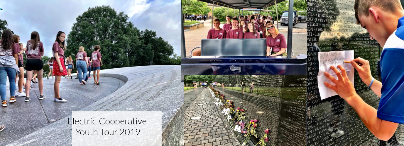 Electric Cooperative Youth Tour 2019
